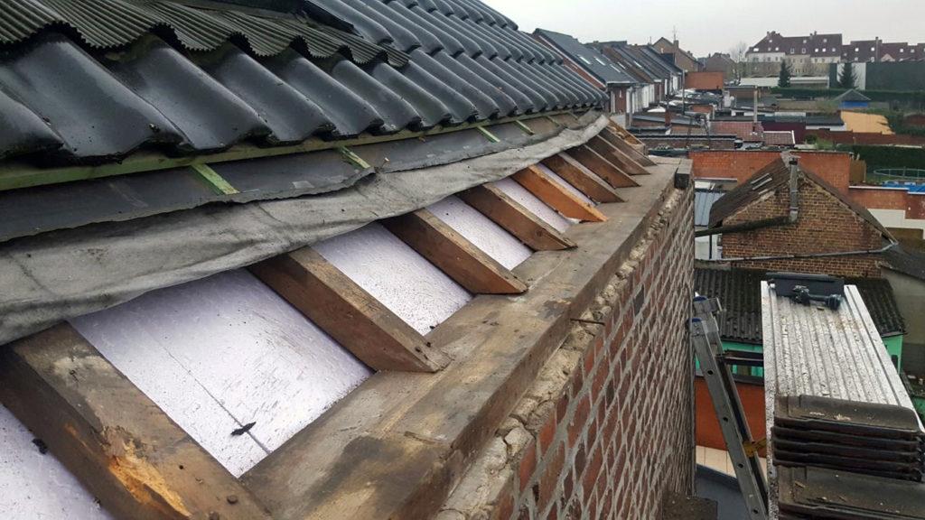 Toitures Jullien dakwerken dakgoot gouttière en zinc