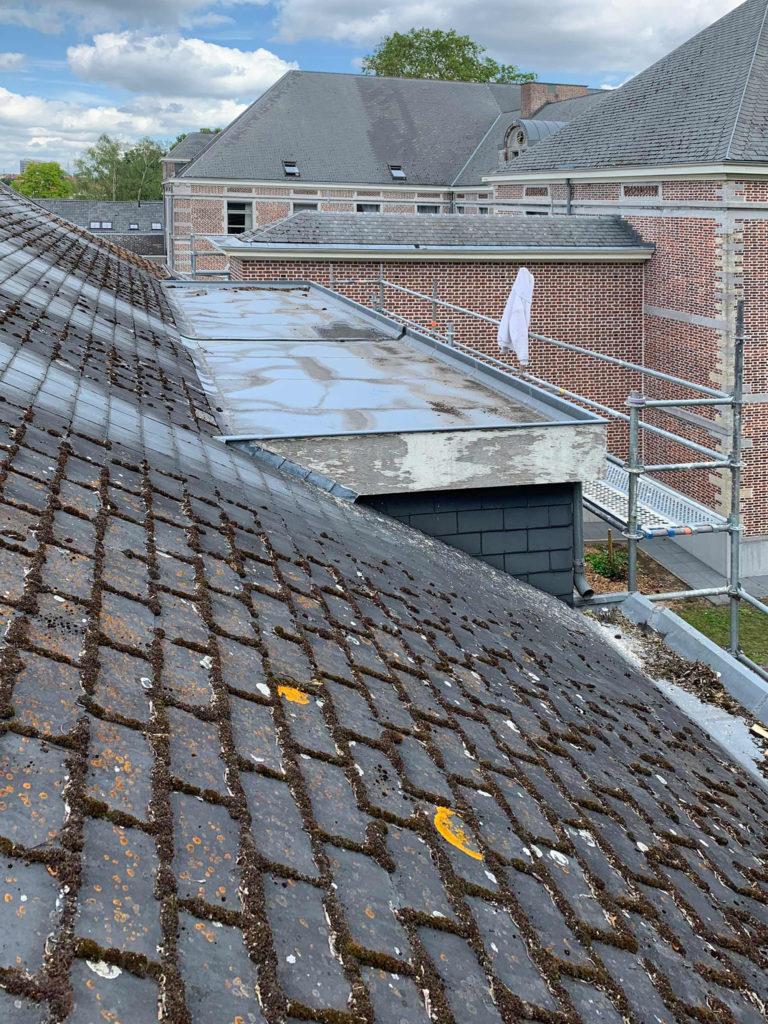Toitures Jullien dakwerken corniche en zinc zinkwerken