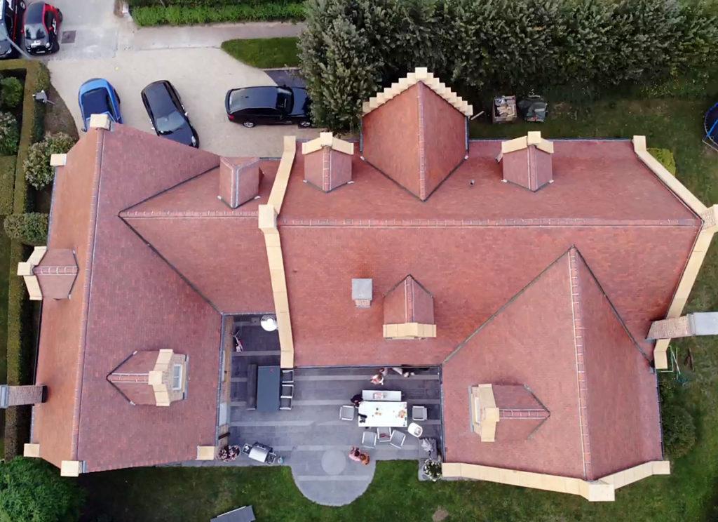 Toitures Jullien dakwerken ontmossing démoussage St Pieters Leeuw