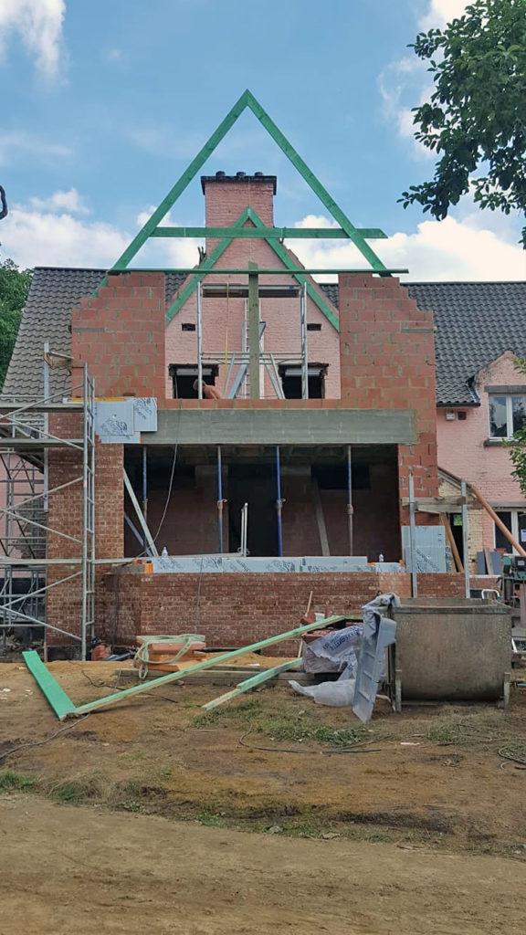 Toitures Jullien Dakwerken charpente extension uitbouw timmerwerken