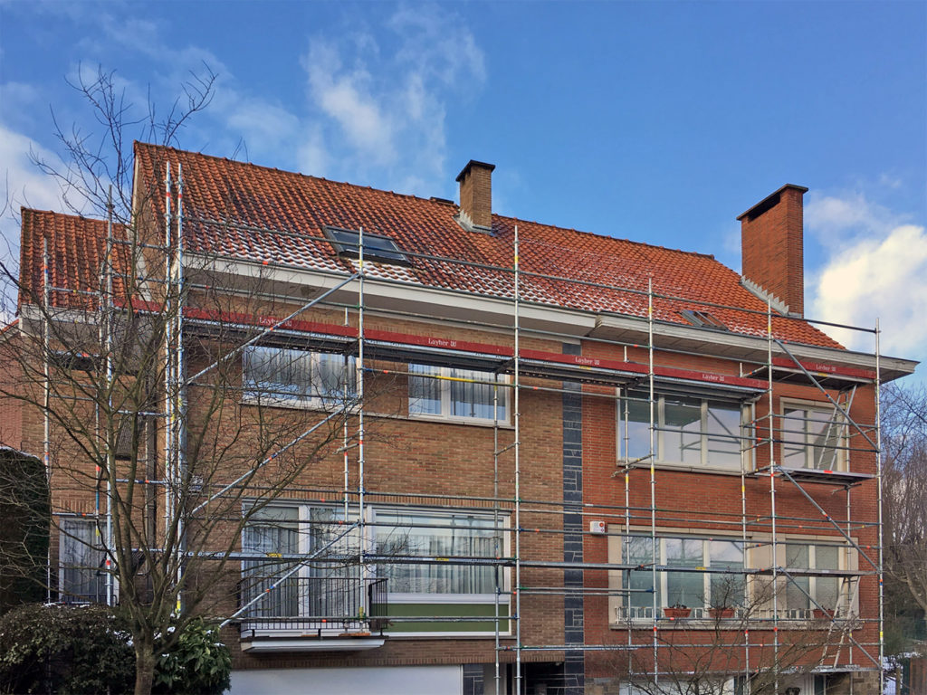 isolation - rehaussement - isolatie - dakverhoging - Boitsfort - Bosvoorde